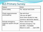 bls primary survey1