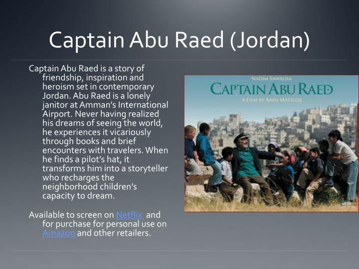 Captain Abu Raed (Jordan)