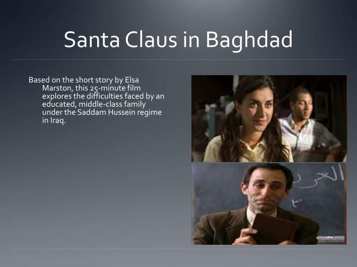 Santa Claus in Baghdad