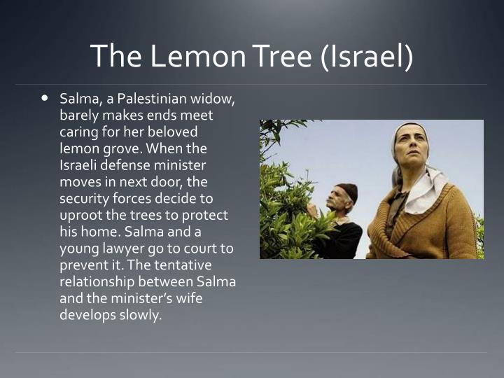 The Lemon Tree (Israel)
