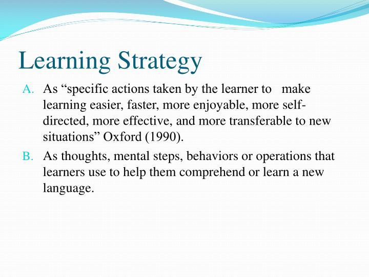 the relationship between learning styles and language strategies