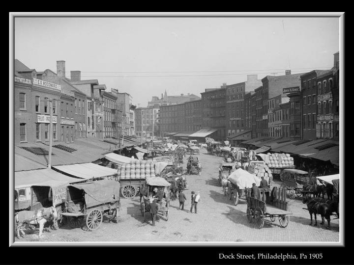 Dock Street, Philadelphia, Pa 1905