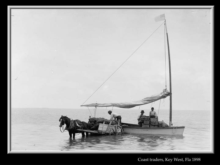 Coast traders, Key West, Fla 1898