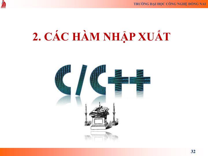 2. CC HM NHP XUT