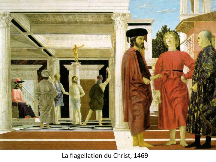 La flagellation du Christ,