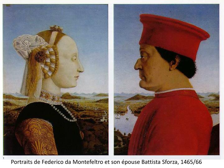 Portraits de Federico da