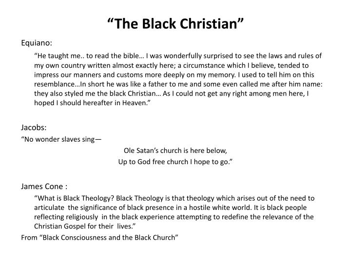 """The Black Christian"""