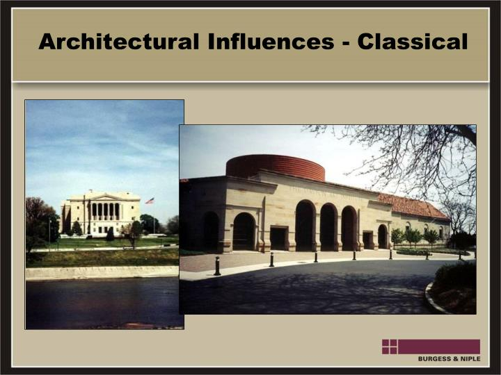 Architectural Influences - Classical
