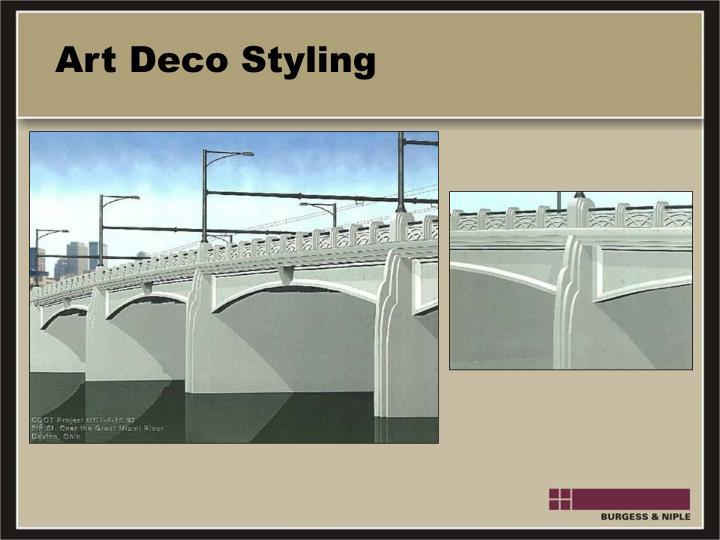 Art Deco Styling