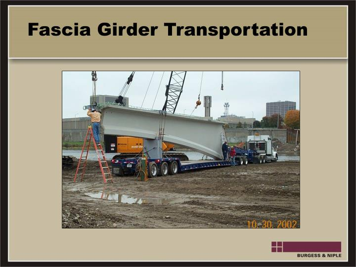 Fascia Girder Transportation