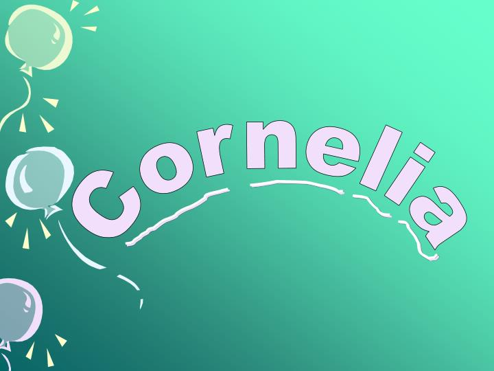 Cornelia