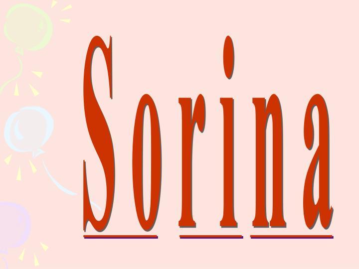 Sorina