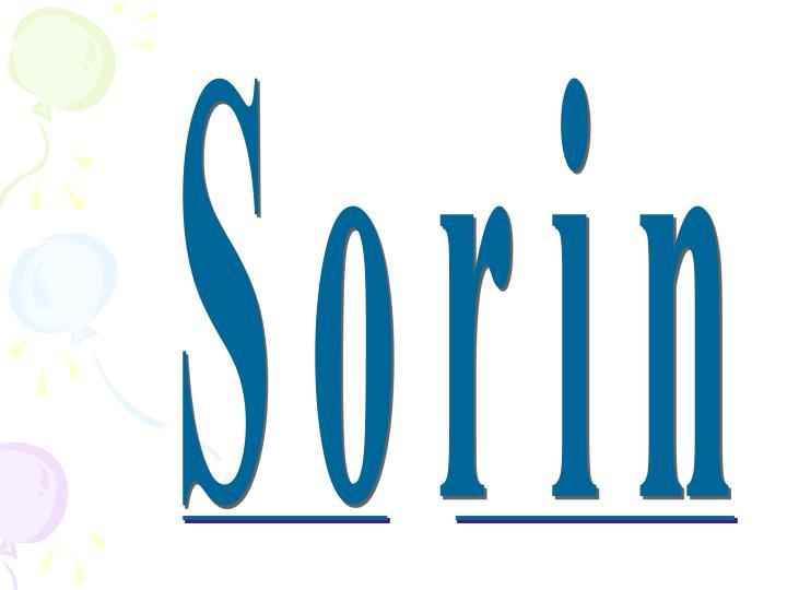 Sorin