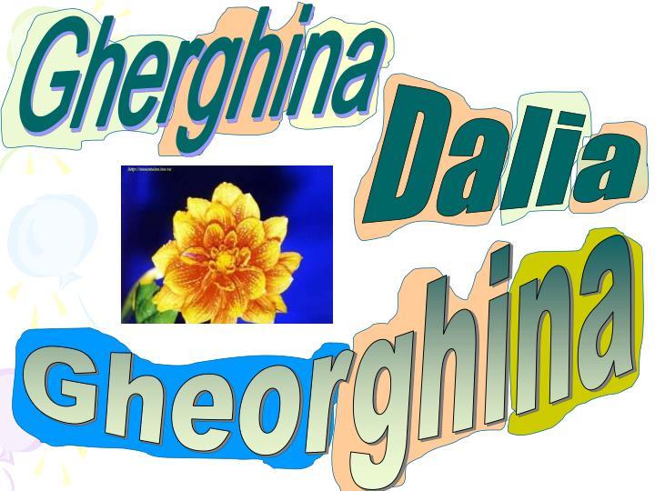 Gherghina