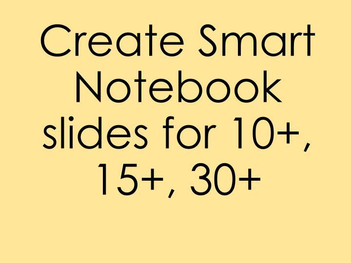Create Smart