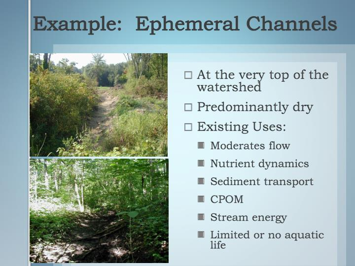 Example:  Ephemeral