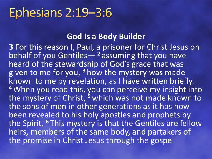 Ephesians 2:19–3:6