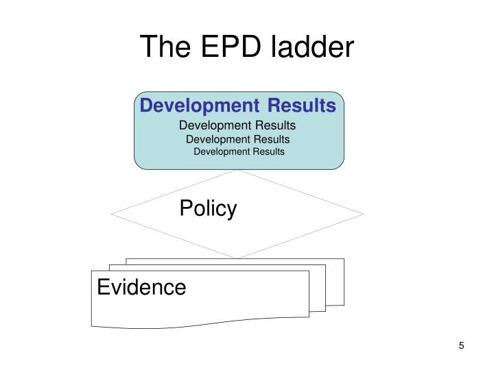 The EPD ladder