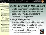 digital information management