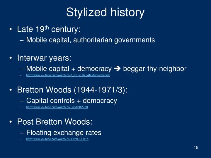 Stylized history