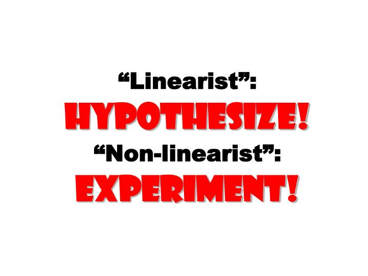 """Linearist"":"