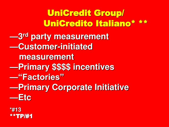 UniCredit Group/