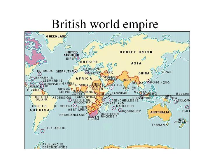 British world empire