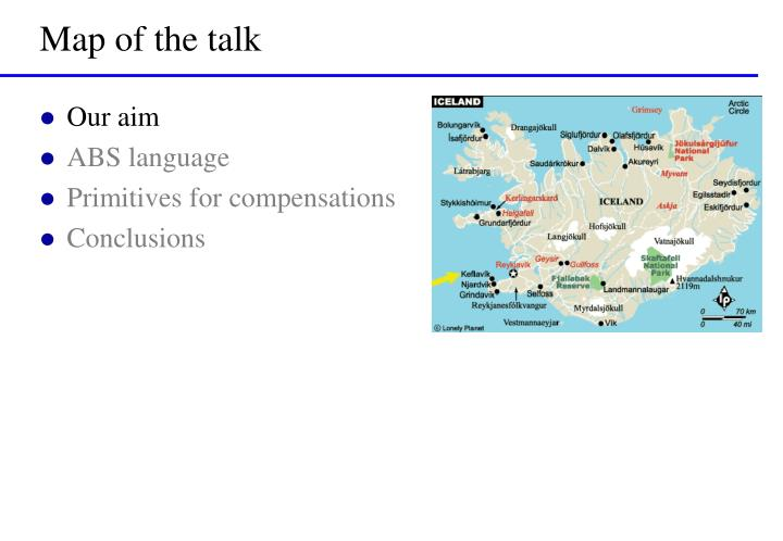 Map of the talk1