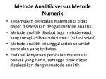 metode analitik versus metode numerik1
