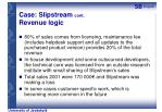 case slipstream cont revenue logic