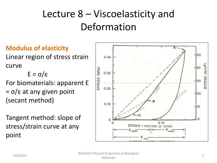 Lecture 8 viscoelasticity and deformation2