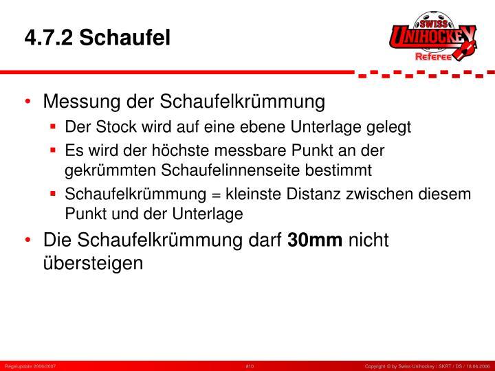 4.7.2 Schaufel