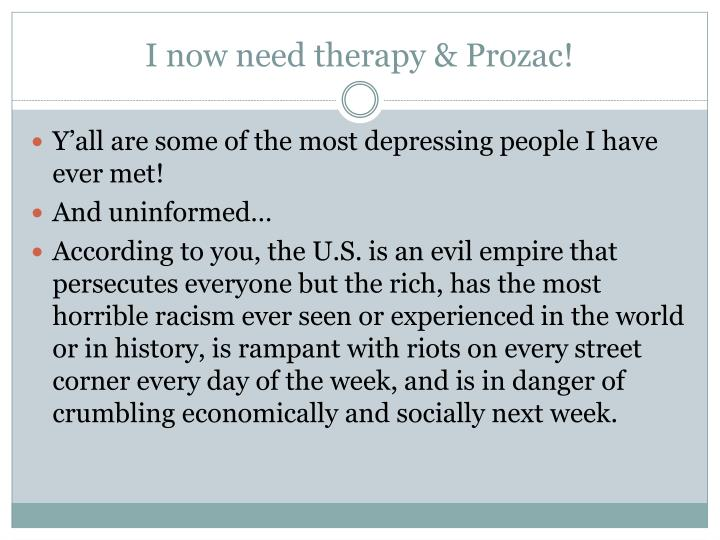 I now need therapy & Prozac!