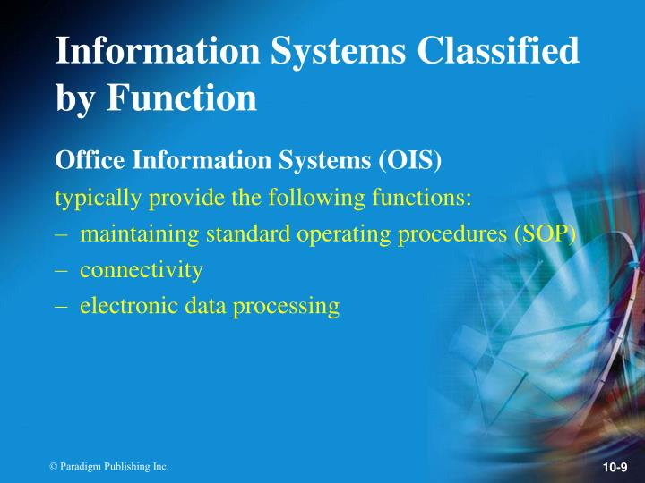 Office Information Systems (OIS)