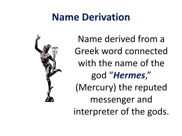 Name Derivation