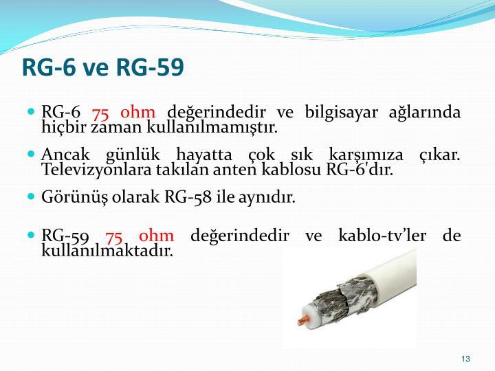 RG-6 ve RG-59