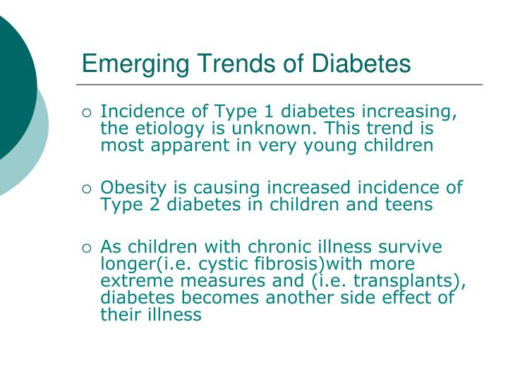 Emerging Trends of Diabetes
