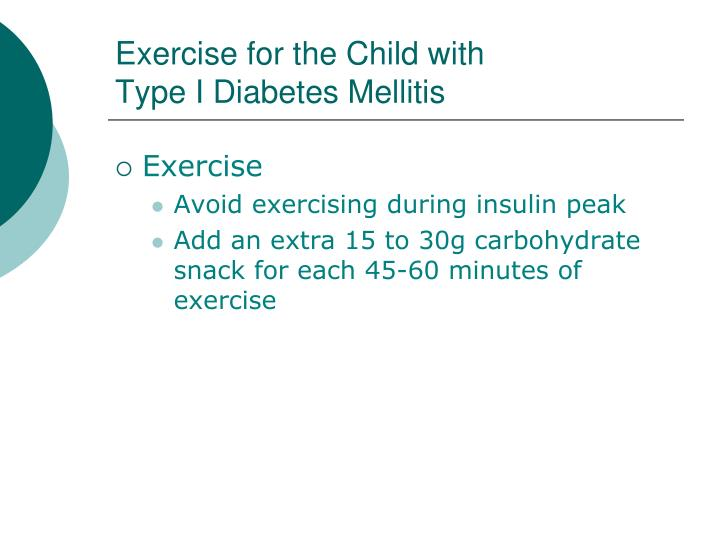 Exercise for the Child with