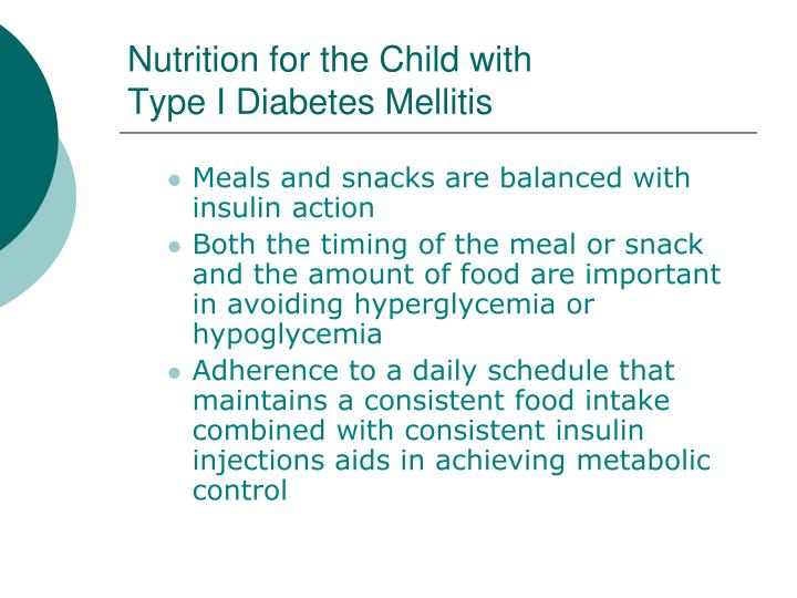 Nutrition for the Child with