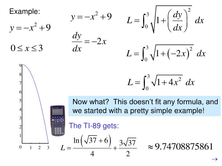 Now what?  This doesn't fit any formula, and we started with a pretty simple example!