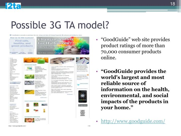 Possible 3G TA model?