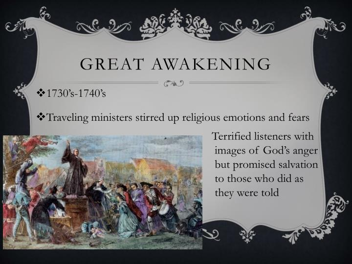 enlightenment great awakening Enlightenment philosophy and great awakening christianity were very different, but both influenced the american colonies and american revolution and both frame our thinking today.
