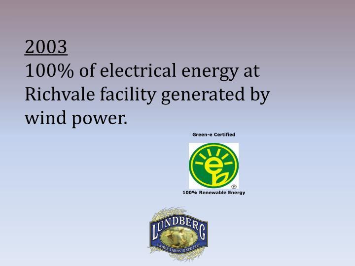 Green-e Certified