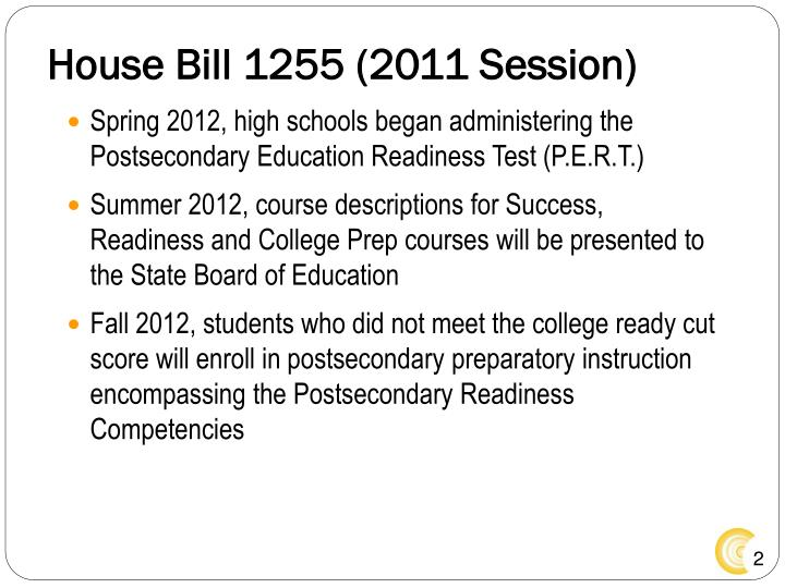 House bill 1255 2011 session