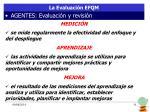 la evaluaci n efqm5