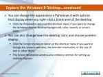 explore the windows 8 desktop continued3
