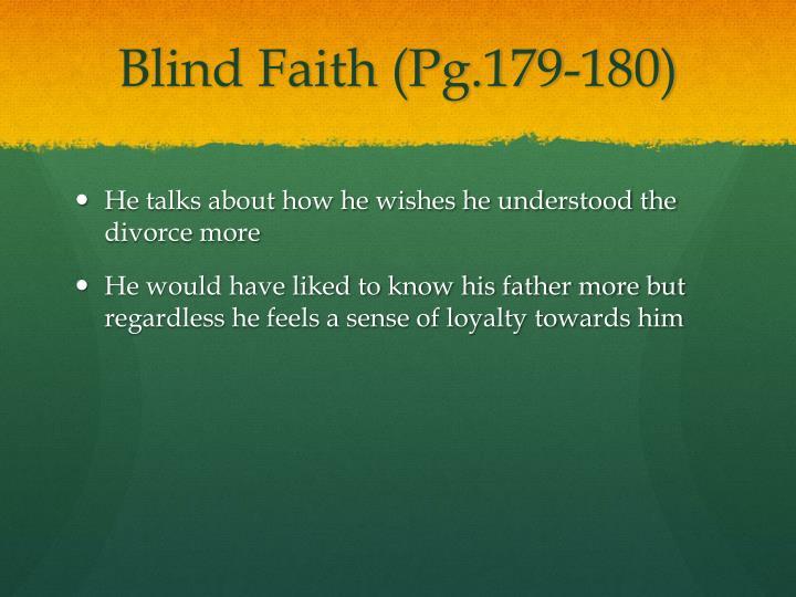 Blind Faith (Pg.179-180)