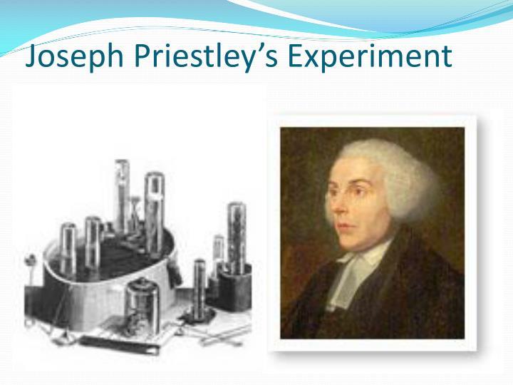 Joseph Priestley's Experiment