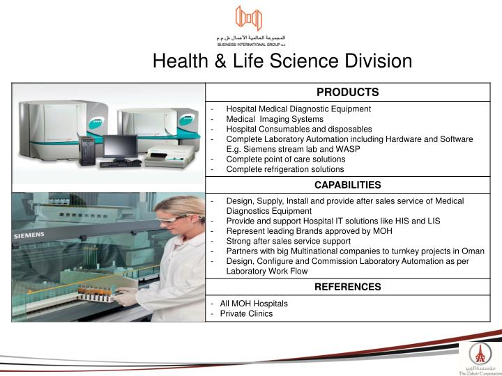 Health & Life Science Division
