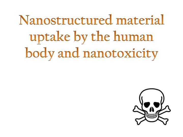 Nanostructured